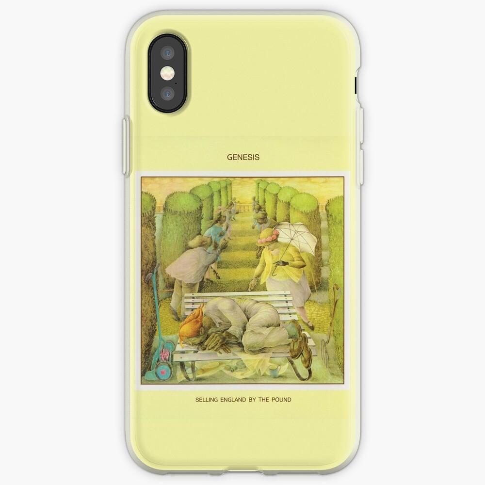 Genesis - England durch das Pfund verkaufen iPhone-Hülle & Cover