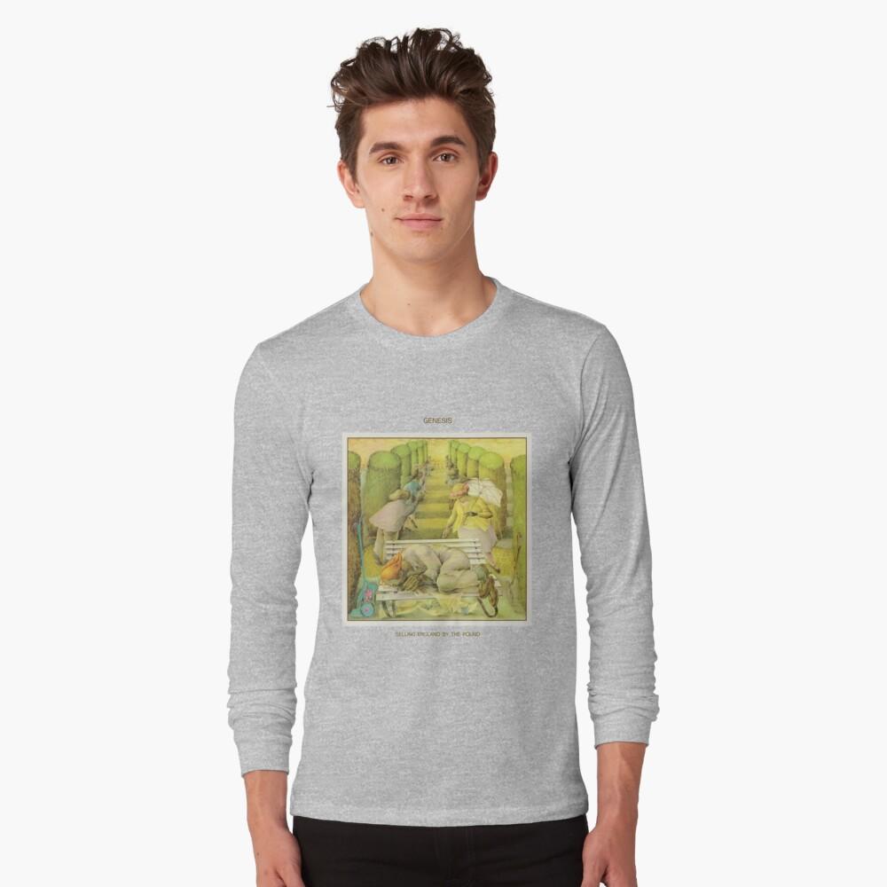 Genesis - England durch das Pfund verkaufen Langarmshirt