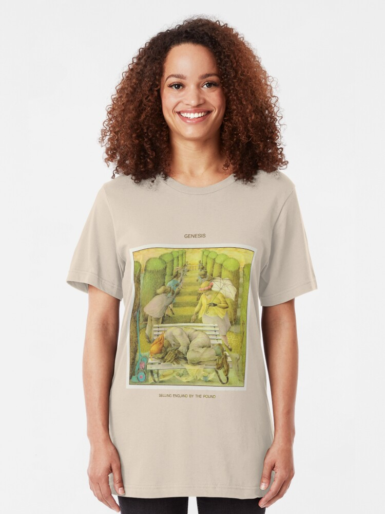 Alternate view of Genesis - Selling England by the Pound Slim Fit T-Shirt