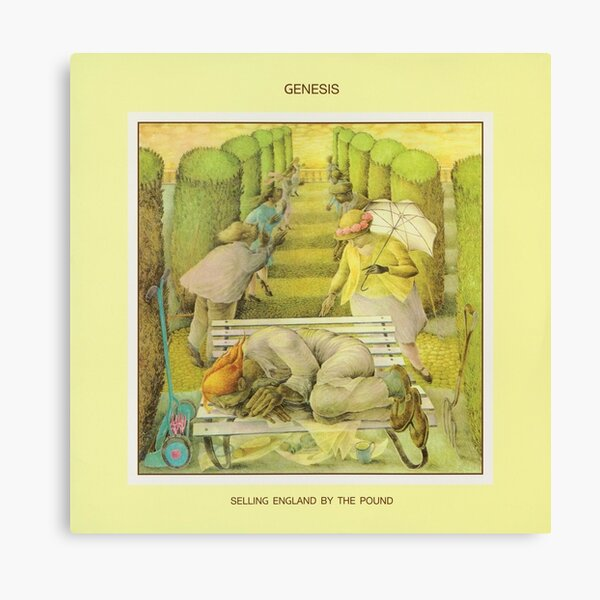 Genesis - Selling England by the Pound Canvas Print