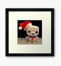 Santa Stay Puft Framed Print
