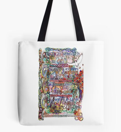 Peace and Strength Tote Bag
