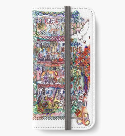 Peace and Strength iPhone Wallet