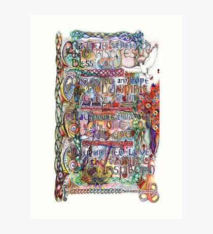 Peace and Strength Art Print