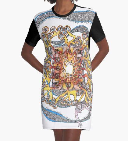 Pentecost Graphic T-Shirt Dress