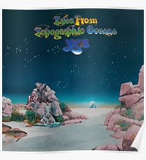 Yes - Tales from Topographic Oceans Logo Poster