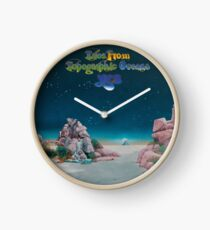 Yes - Tales from Topographic Oceans Logo Clock