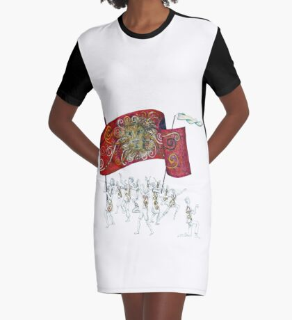 People of the Lion Graphic T-Shirt Dress