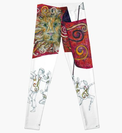 People of the Lion Leggings