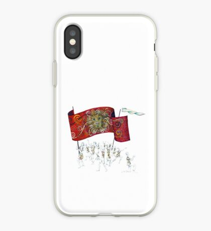 People of the Lion iPhone Case