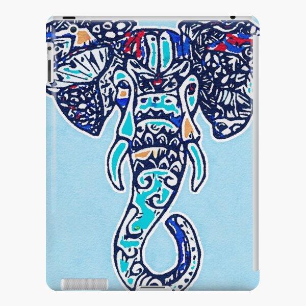 Digital Elephant Illustration iPad Snap Case