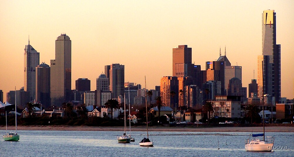 That's Melbourne by groova