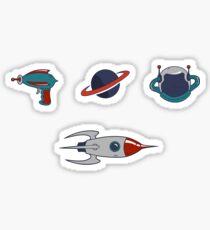 Spaceman. Sticker