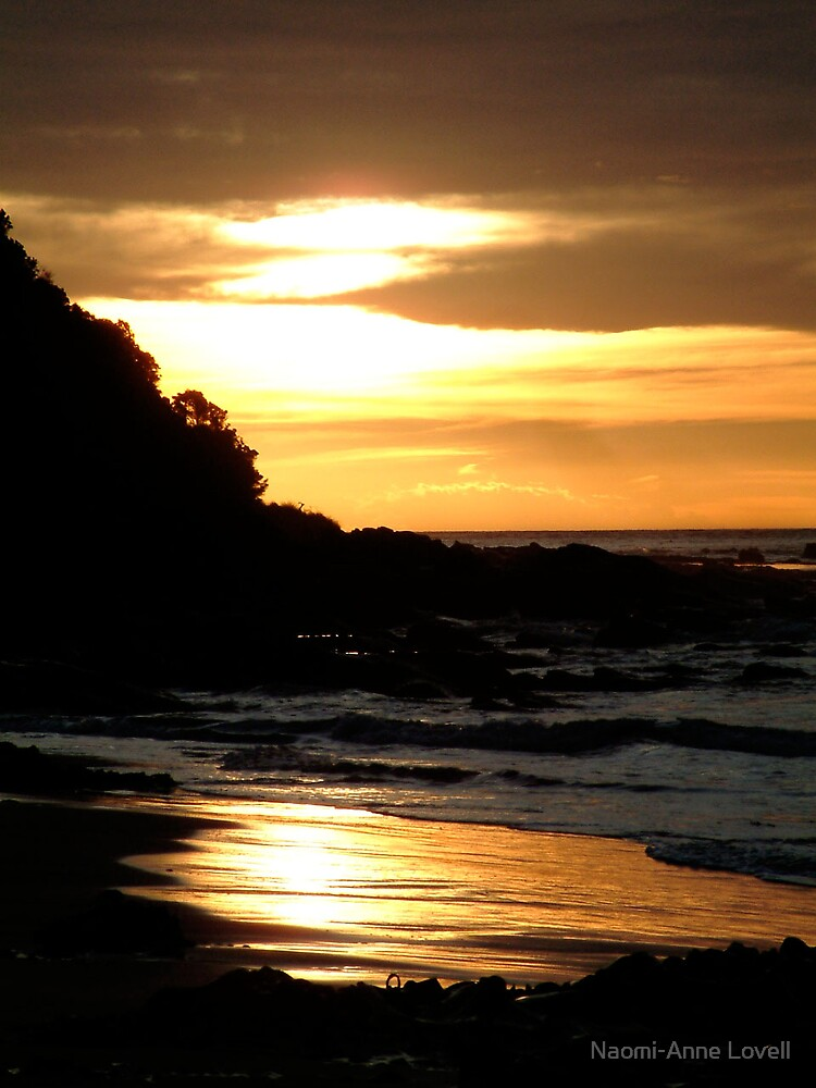 Sunrise at Wye River by Naomi-Anne Lovell