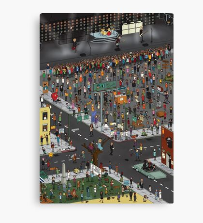 The Ultimate Green Day Poster Canvas Print