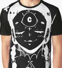 Doki Doki Third Eye (Black) Graphic T-Shirt