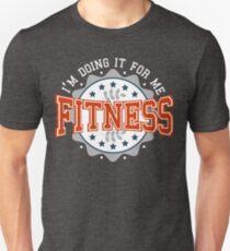 Fitness Varsity Badge T-Shirt