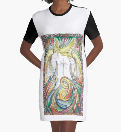 Prince of Peace Graphic T-Shirt Dress