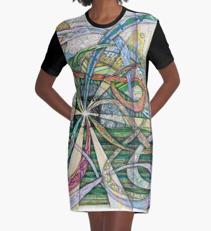 Resurrection Graphic T-Shirt Dress
