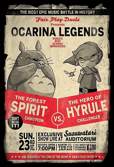 Ocarina Legends by Nasken