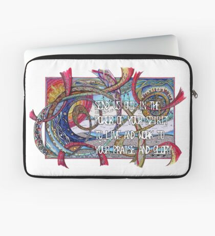 Send Us Out Laptop Sleeve