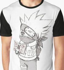 Chibi kakashi Reading Boock  Graphic T-Shirt