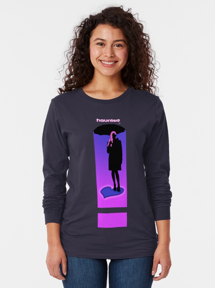 Alternate view of Haunted by love Long Sleeve T-Shirt