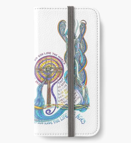 So Greatly Did God Love iPhone Wallet