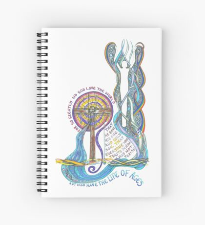 So Greatly Did God Love Spiral Notebook