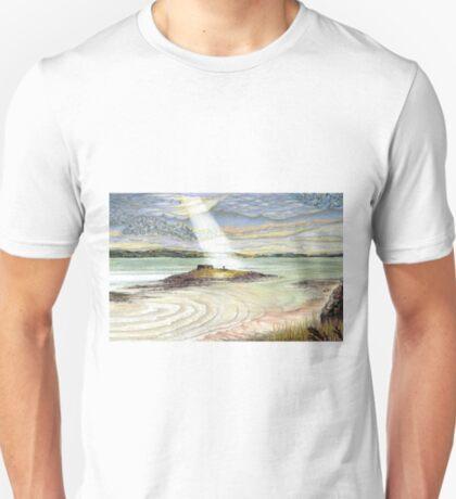 St. Cuthbert's Island, Holy Island T-Shirt