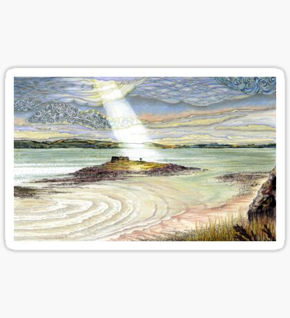 St. Cuthbert's Island, Holy Island Sticker