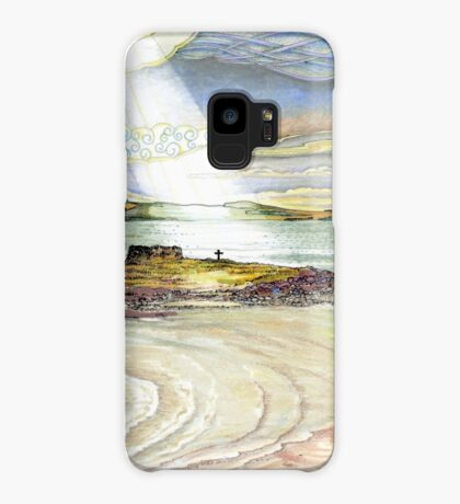 St. Cuthbert's Island, Holy Island Case/Skin for Samsung Galaxy