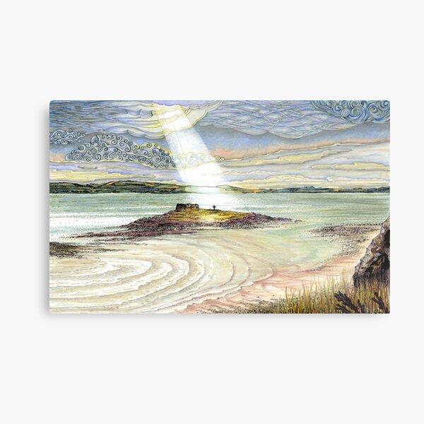St. Cuthbert's Island, Holy Island Metal Print
