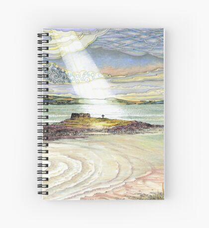 St. Cuthbert's Island, Holy Island Spiral Notebook