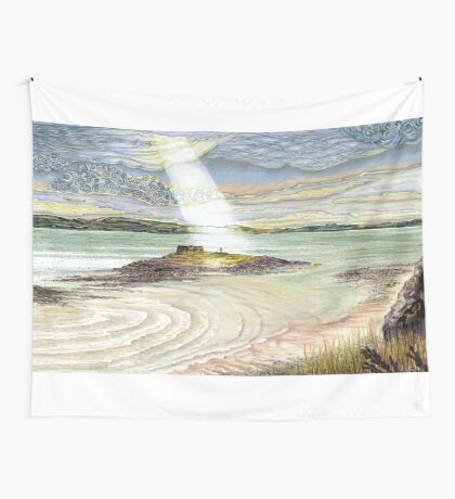 St. Cuthbert's Island, Holy Island Wall Tapestry