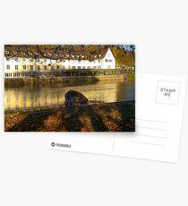 Stockerkahn in Autumn Postcards