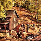 """Gresham Mill in October""... prints and products by Bob Hall©"