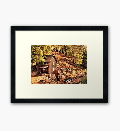 """""""Gresham Mill in October""""... prints and products Framed Print"""