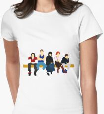 The Breakfast Club // John Hughes Unique Minimalist Design Women's Fitted T-Shirt