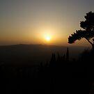 Tuscany Sunset by Ashley Ng