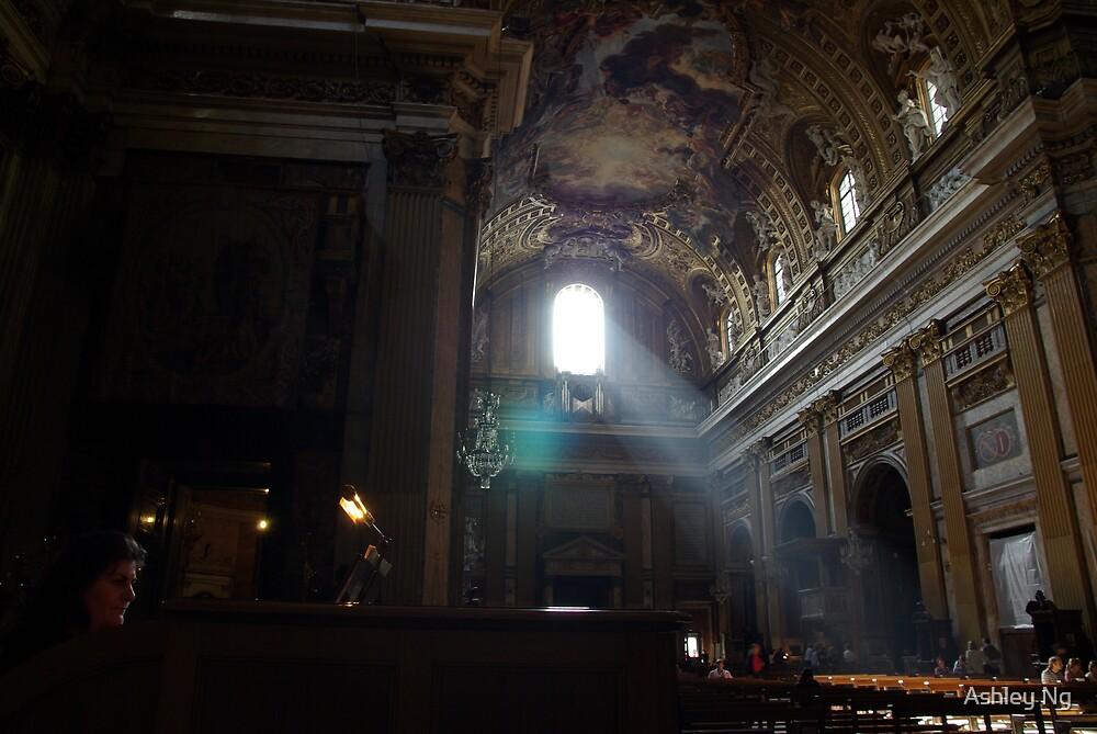 Church Organist by Ashley Ng