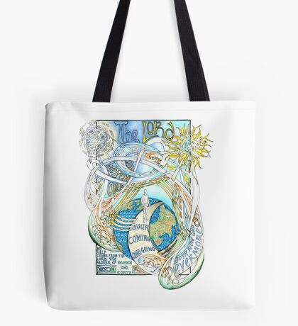 The Lord Will Watch Over You Tote Bag