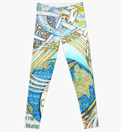 The Lord Will Watch Over You Leggings