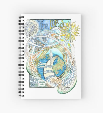 The Lord Will Watch Over You Spiral Notebook