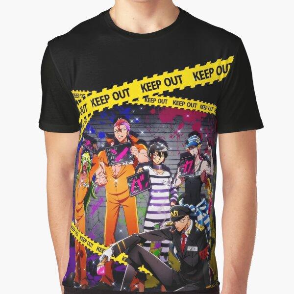 Nanbaka Crew Graphic T-Shirt