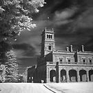 Werribee Mansion in IR by John Barratt