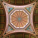 Melbourne Exhibition Building Ceiling Detail by John Barratt