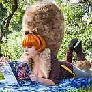 Unbeatable Squirrel Girl Reading her Comic by KAMIcomics