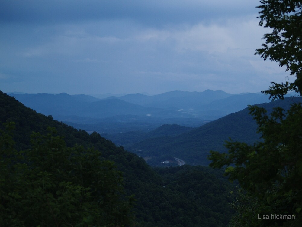 blue ridge mountians by Lisa hickman