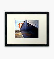17 Below Framed Print